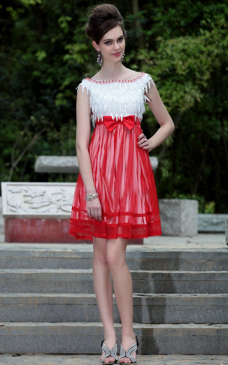 White and red bridesmaid dresses tea top 50 white and red white and red bridesmaid dresses tea ombrellifo Image collections