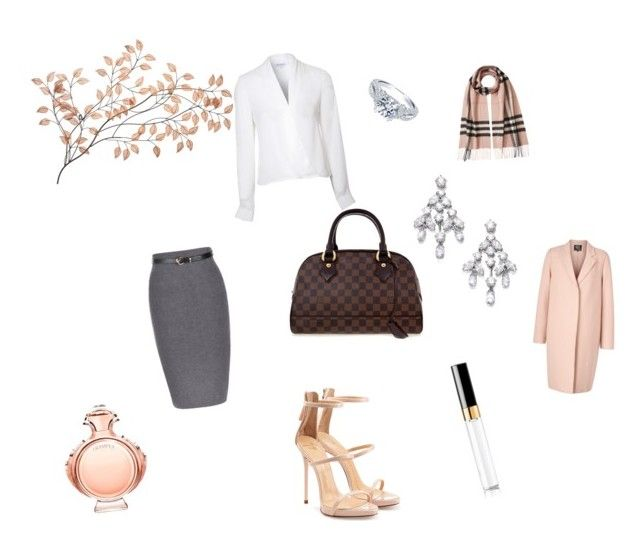 """Untitled #24"" by deedee-dielemans ❤ liked on Polyvore featuring Lipsy, Burberry, McQ by Alexander McQueen, Louis Vuitton, Harry Winston, Giuseppe Zanotti, Paco Rabanne, Chanel, women's clothing and women's fashion"