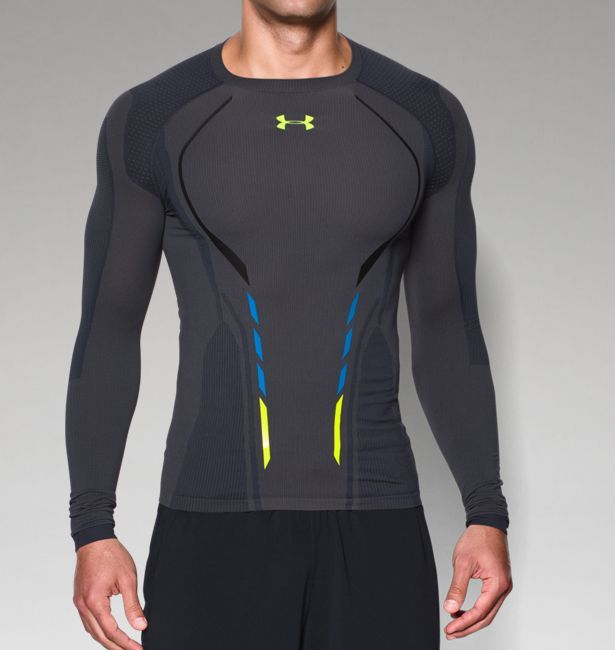 Men s UA HeatGear® Armour Seamless Long Sleeve Shirt. Works great as a compression  shirt for autistic people who need that feeling. ee9f5c0fd2