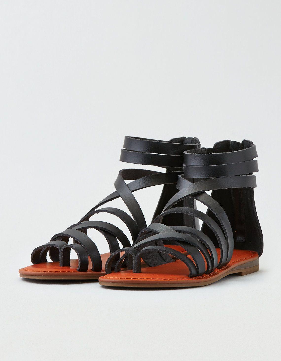 9c8357865d92 AEO Back Zip Sandal