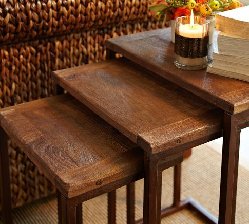 Awesome Granger Nesting Tables | Pottery Barn