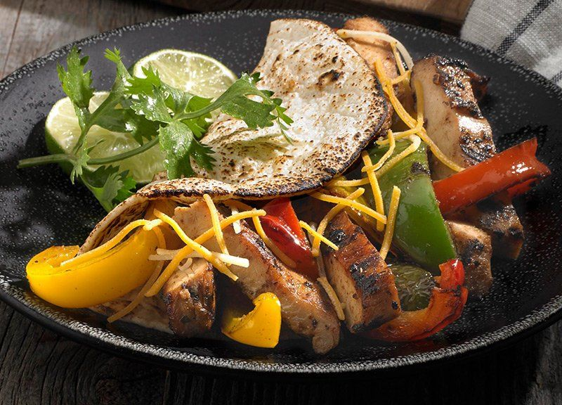 Flame Grilled Chicken Fajitas Recipe Mexican Food Pinterest