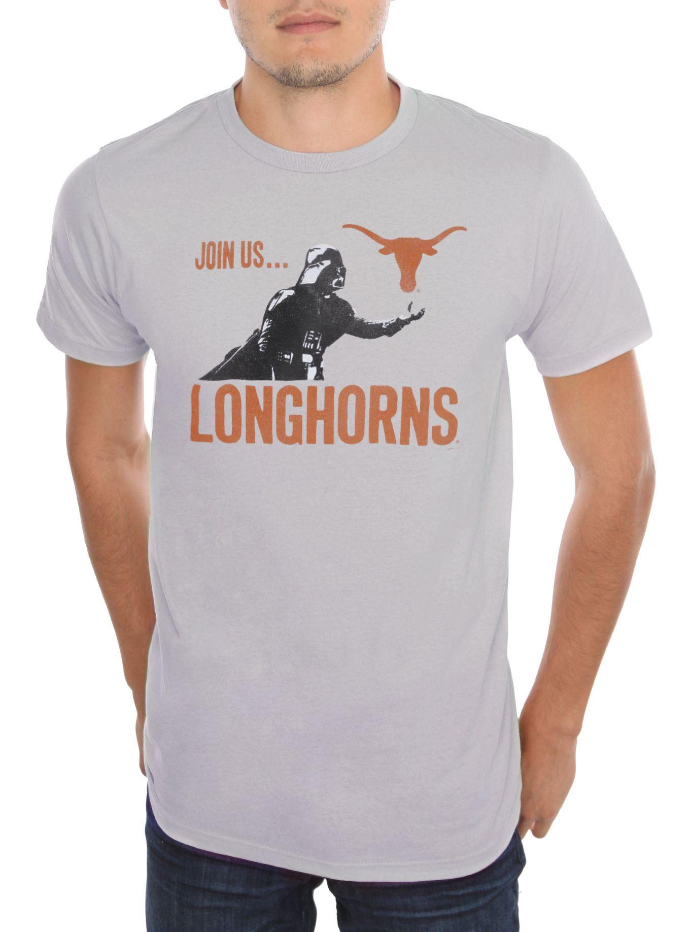 Shirt design killeen tx - Star Wars Ncaa Texas Darth Vader T Shirt Hot Topic