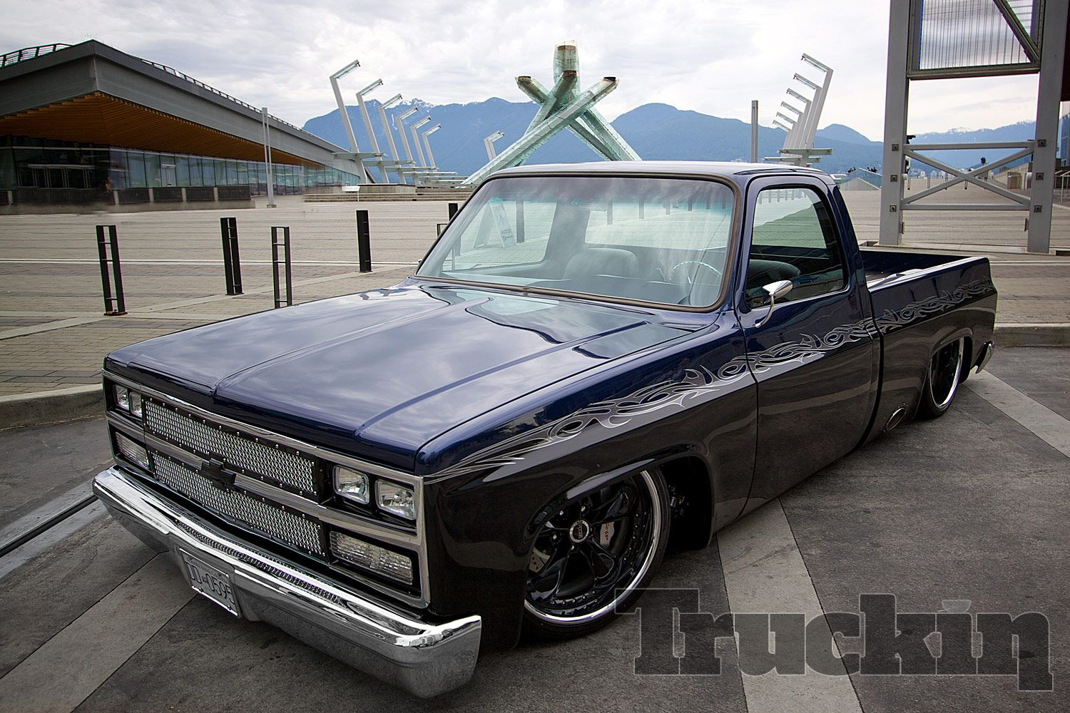 All Chevy chevy 1986 c10 : murdered out c10 | 1986 Gmc C10 Cover Truck Web Extras Photo 21 ...