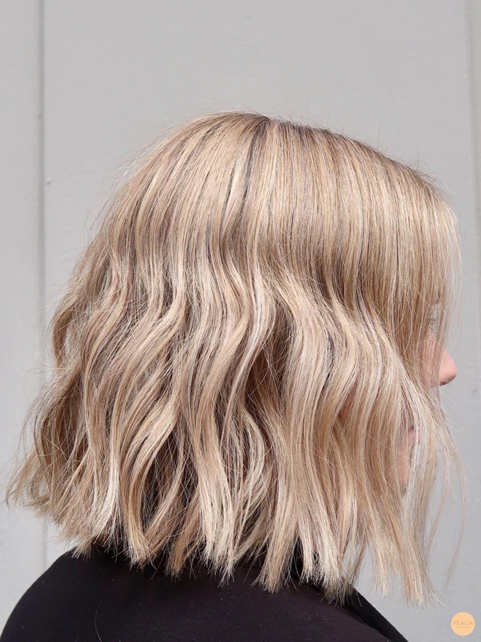 slingor kort hår