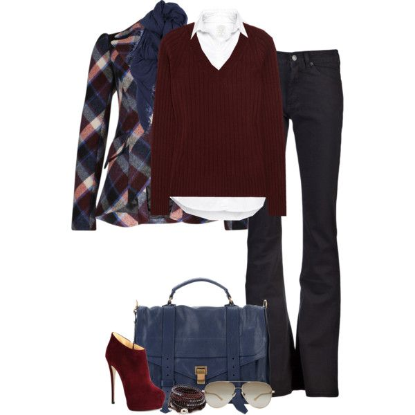 """""""Plaid (II)"""" by partywithgatsby on Polyvore"""