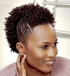 French Braid Styles For Short Natural Hair French Braid Cornrow 1 Natural Hair Styles Black Natural Hairstyles Short Hair Styles African American