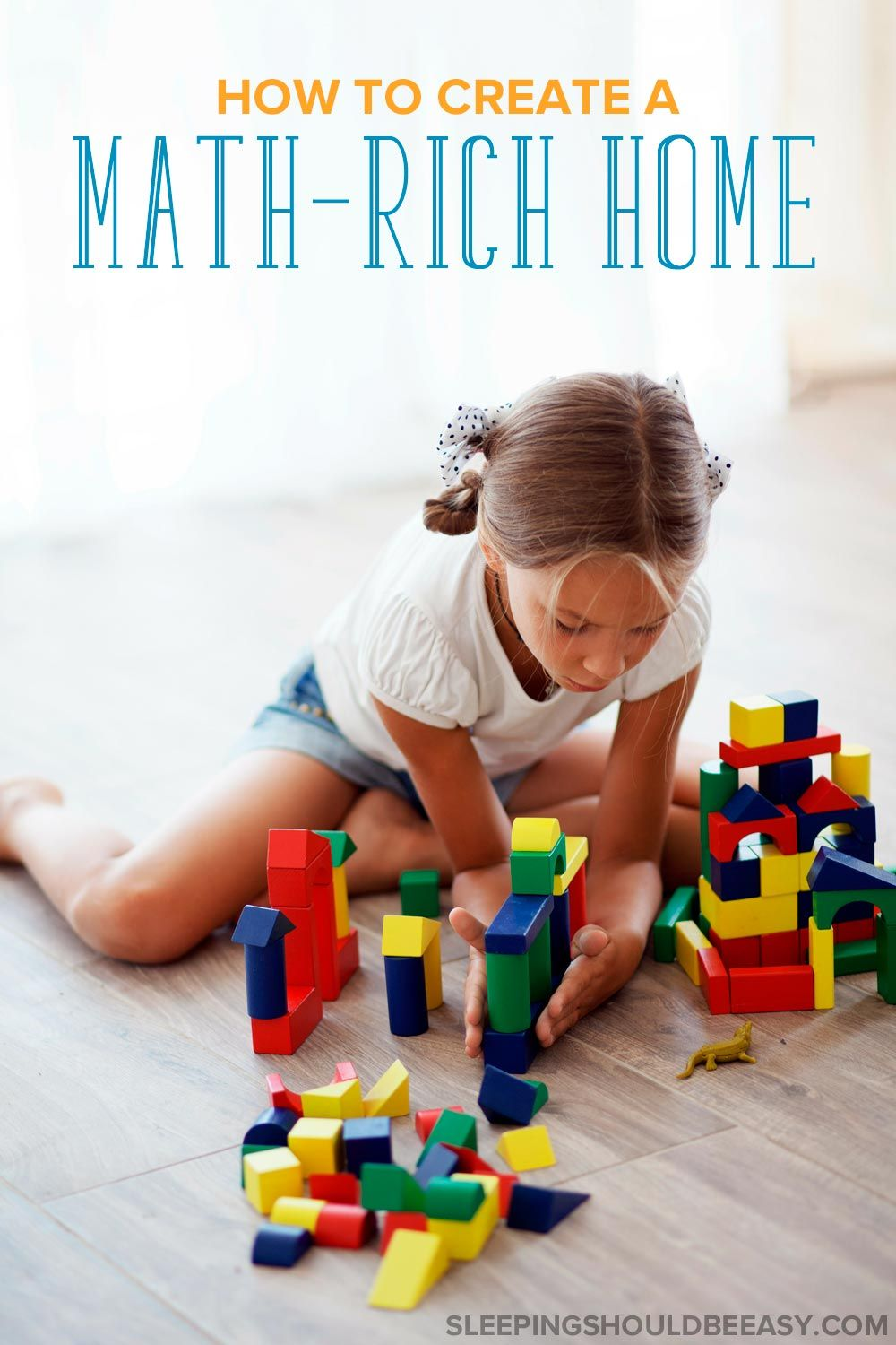 How to Create a Math Rich Environment at Home | Math, Child and Baby ...