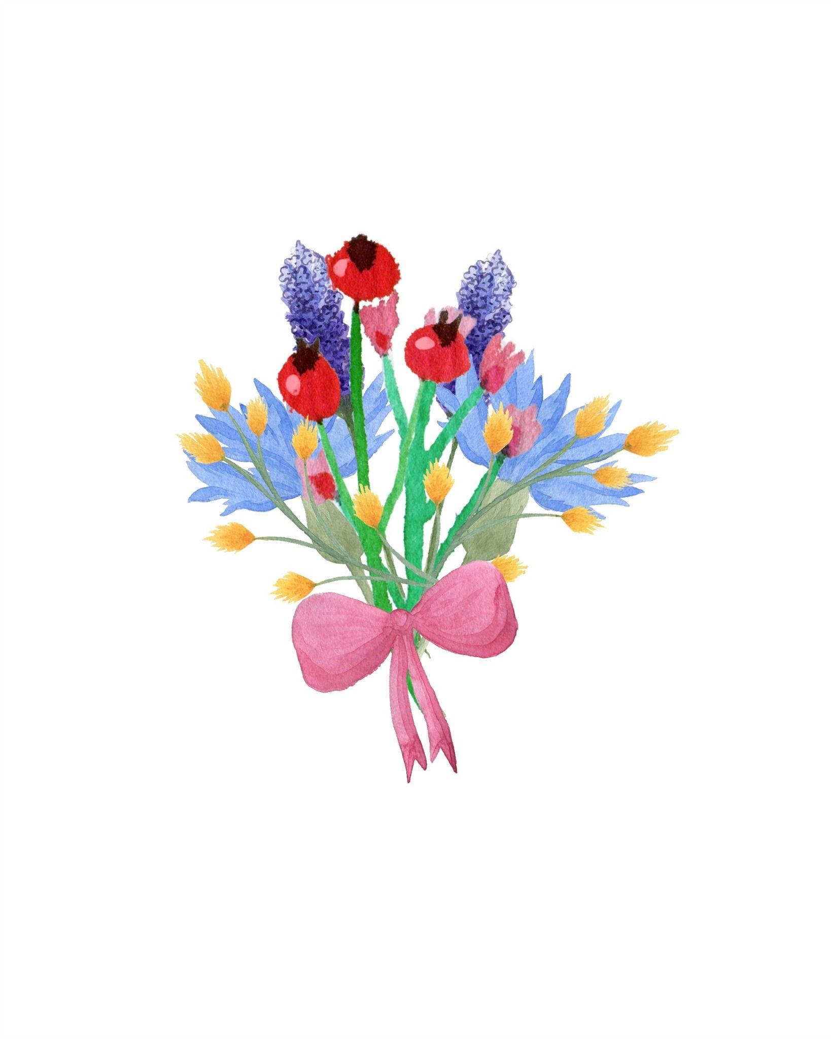floral bouquet free printable bible art journaling inspiration rh pinterest es