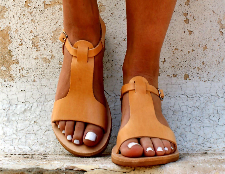 CASSANDRA sandals  women Greek leather sandals  roman sandals ... 9a30b58d63e6
