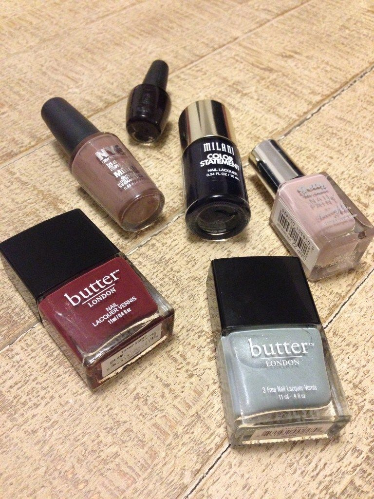 Top 6 Picks for Autumn / Fall Nail Polish Colors   theprettyplus.com ...