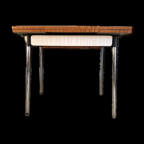 Table En Formica Bicolore Annees 60 En 2020 Table Formica Table Et Bicolore