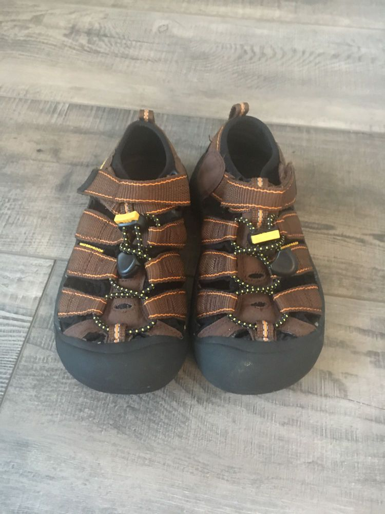 1e85226dac3d KEEN Kids Water Sandals toddler size 13 Sport Waterproof Brown  fashion   clothing  shoes