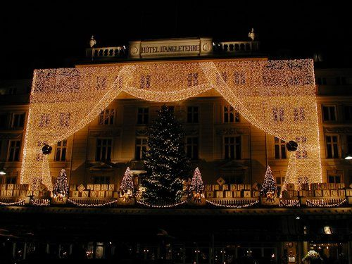 Copenhagen hotel at Xmas! I want to stay here!!