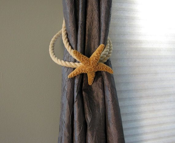 Beach Decor Starfish Tie Back For Curtains We Will Use The Ones