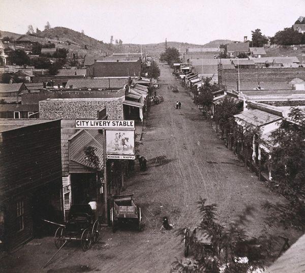 California History Tuolumne County Sonora Washington Street 1860s California History Yosemite Vacation Marysville California