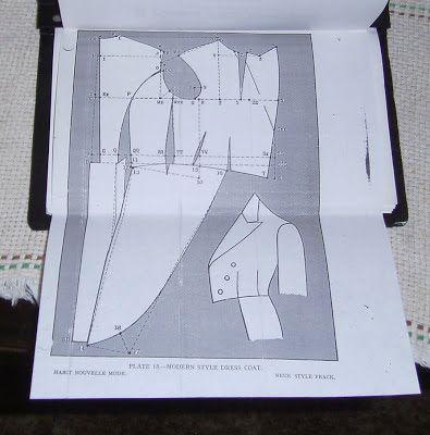 tailcoat pattern | Doll Clothes | Pinterest | Pattern, Coat patterns ...