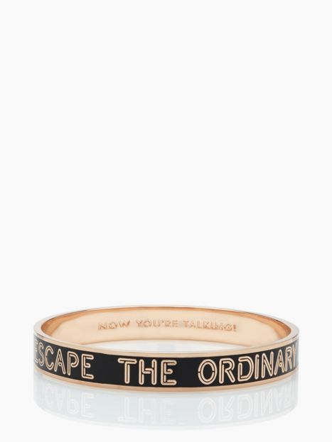 Escape The Ordinary Idiom Bracelet