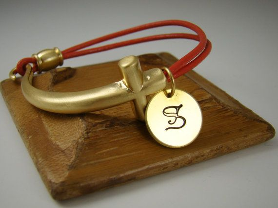 Personalized Hermes Inspired Leather by ShinyLittleBlessings, $15.00
