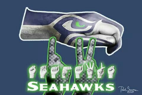 They may not hear the roar of 12th Man, but they can sure feel the rumble and BOOM!!! :-D