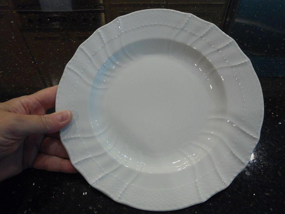 Antique KPM Berlin Porcelain Blanc de Chine Plate Basketweave 8 5/8  | Pottery & Antique KPM Berlin Porcelain Blanc de Chine Plate Basketweave 8 5/8 ...