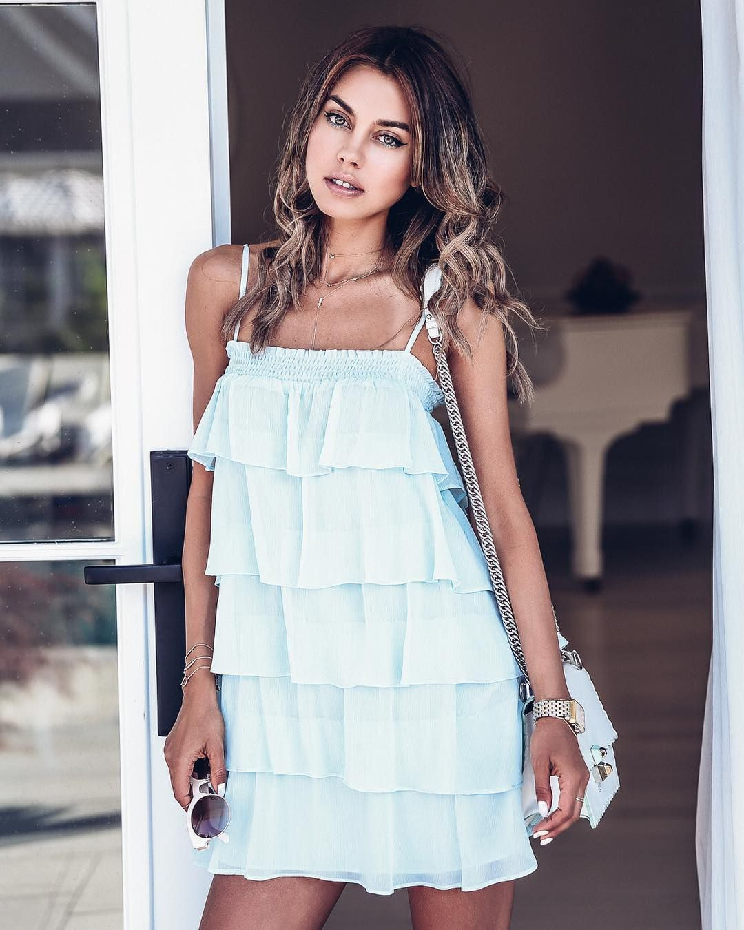 Anabelle Ruffled Bustier Dress Summer Collection Women