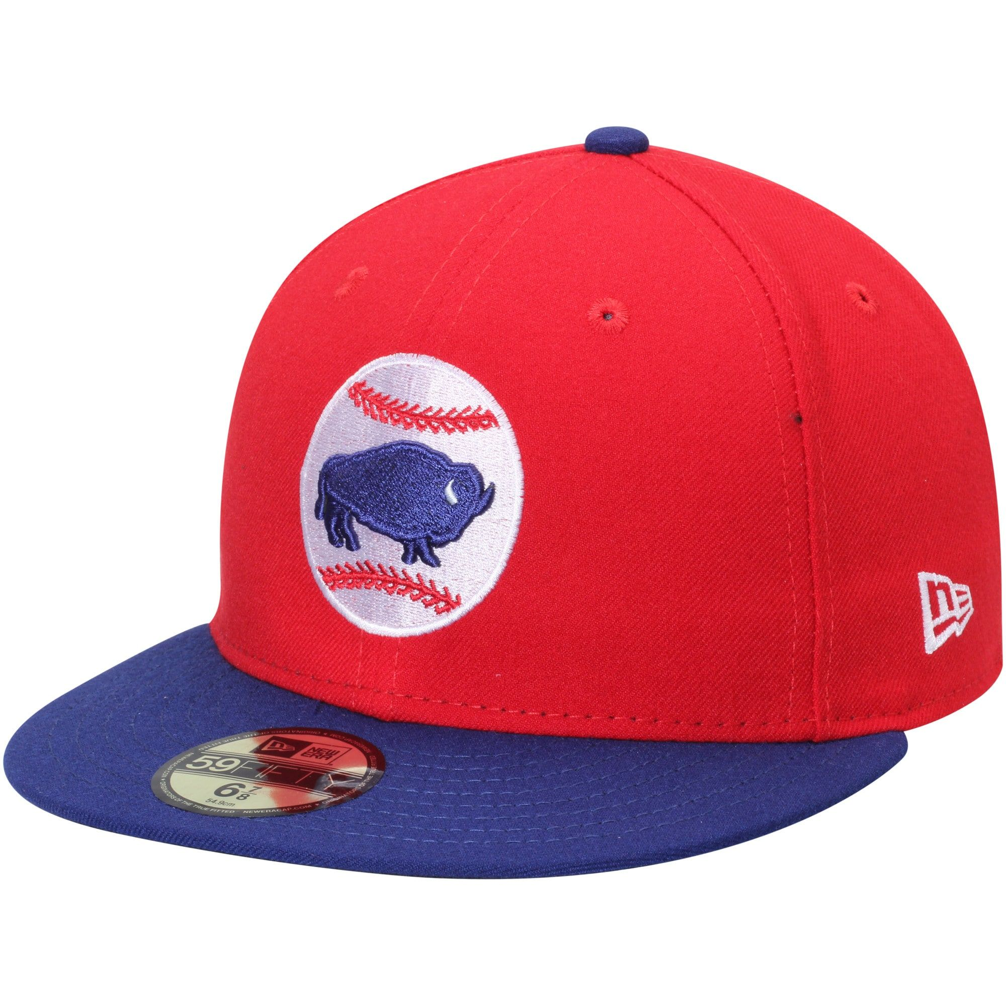 Buffalo Bisons New Era Alternate2 Authentic Collection 59fifty Fitted Hat Red Fitted Hats Hats New Era