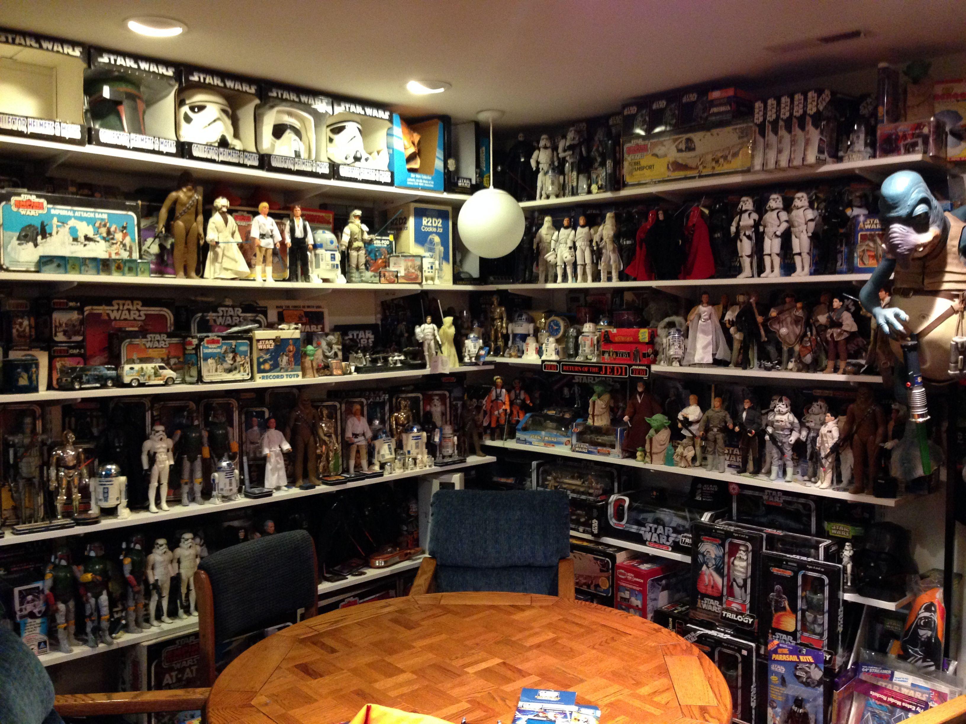 star wars collection display - Google zoeken