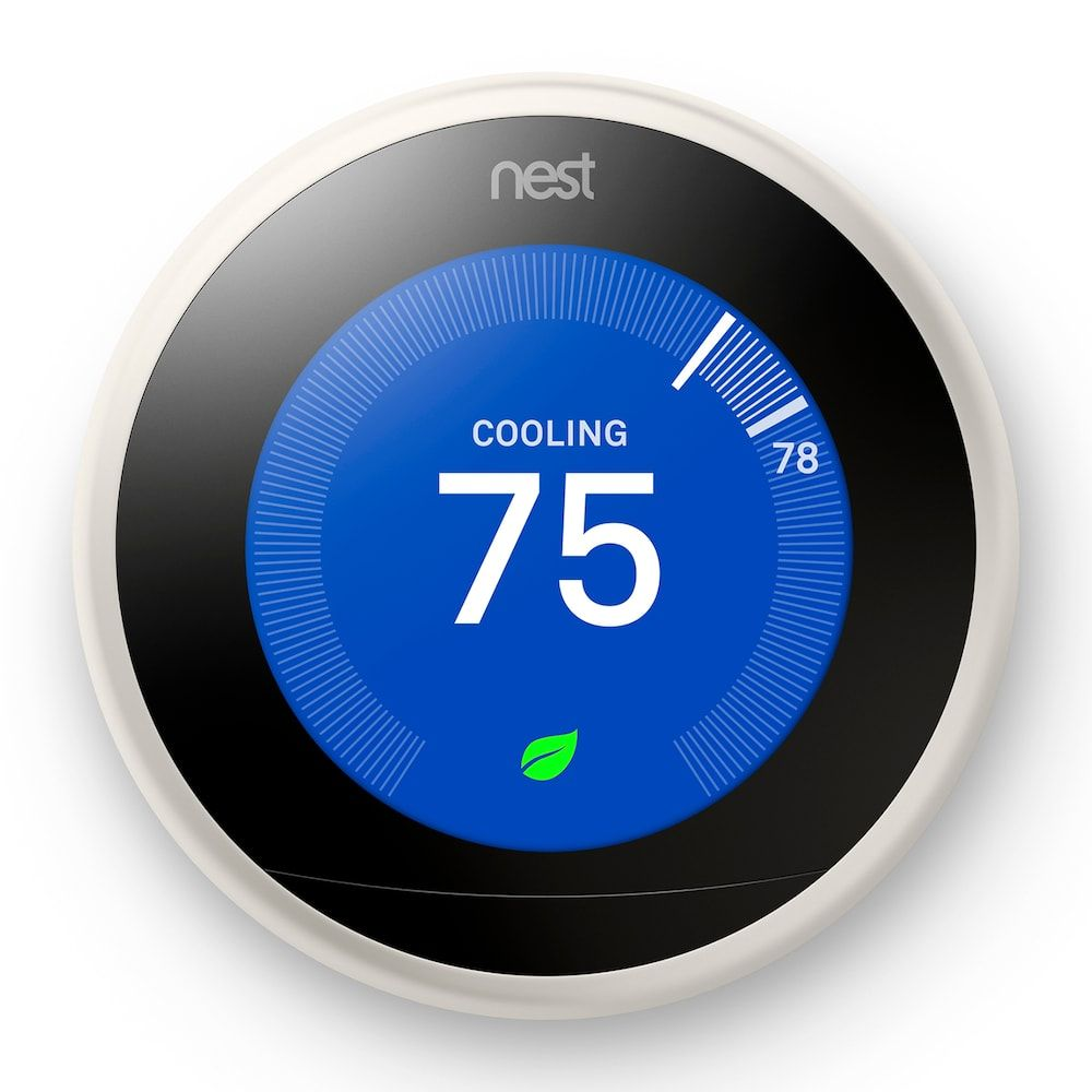 Google Nest Learning Thermostat (3rd Generation) (With