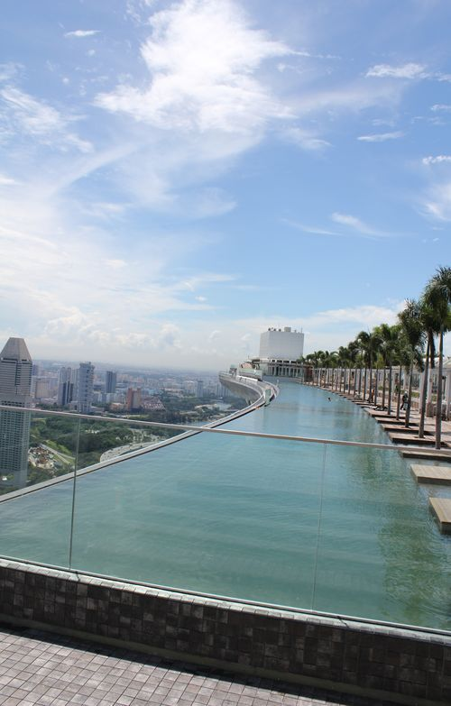 Piscina de récord Guiness, Marina Bay Sands