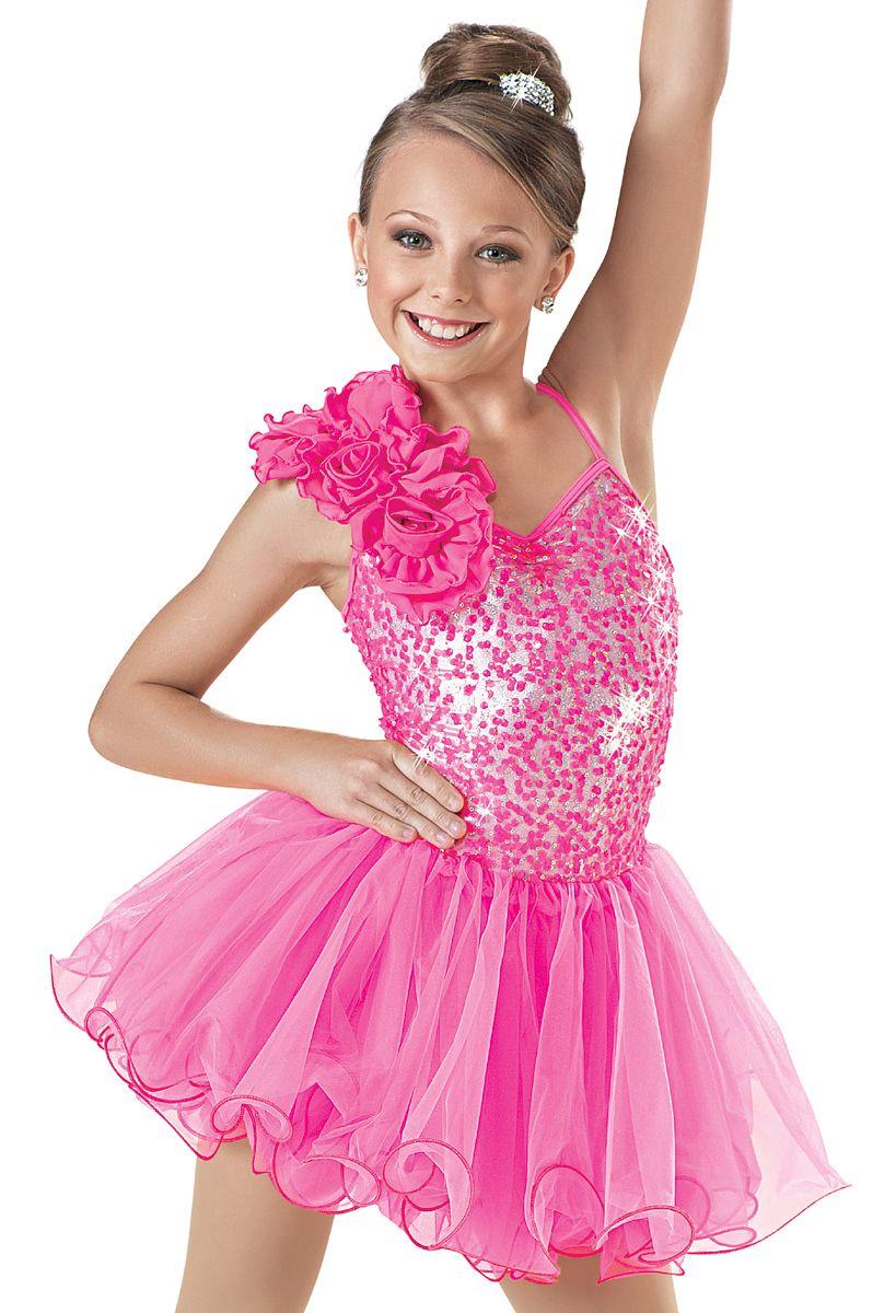 Weissman™   Metallic Sequin Curly Hem Dress   dance costumes ...