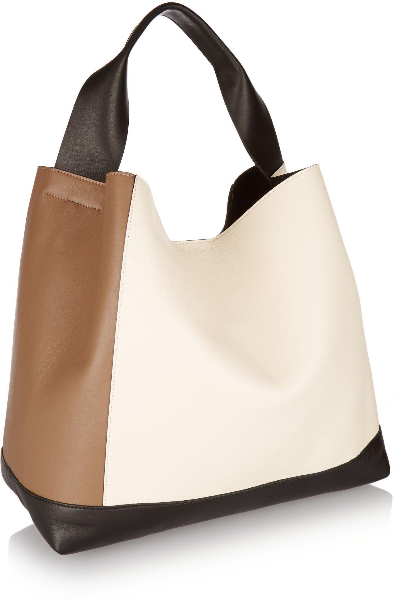 Colour-Block Leather Shoulder Bag Marni jp68zzW