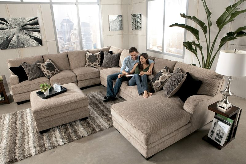Sectional from ashley 39 s love this for the home for Comedores ashley