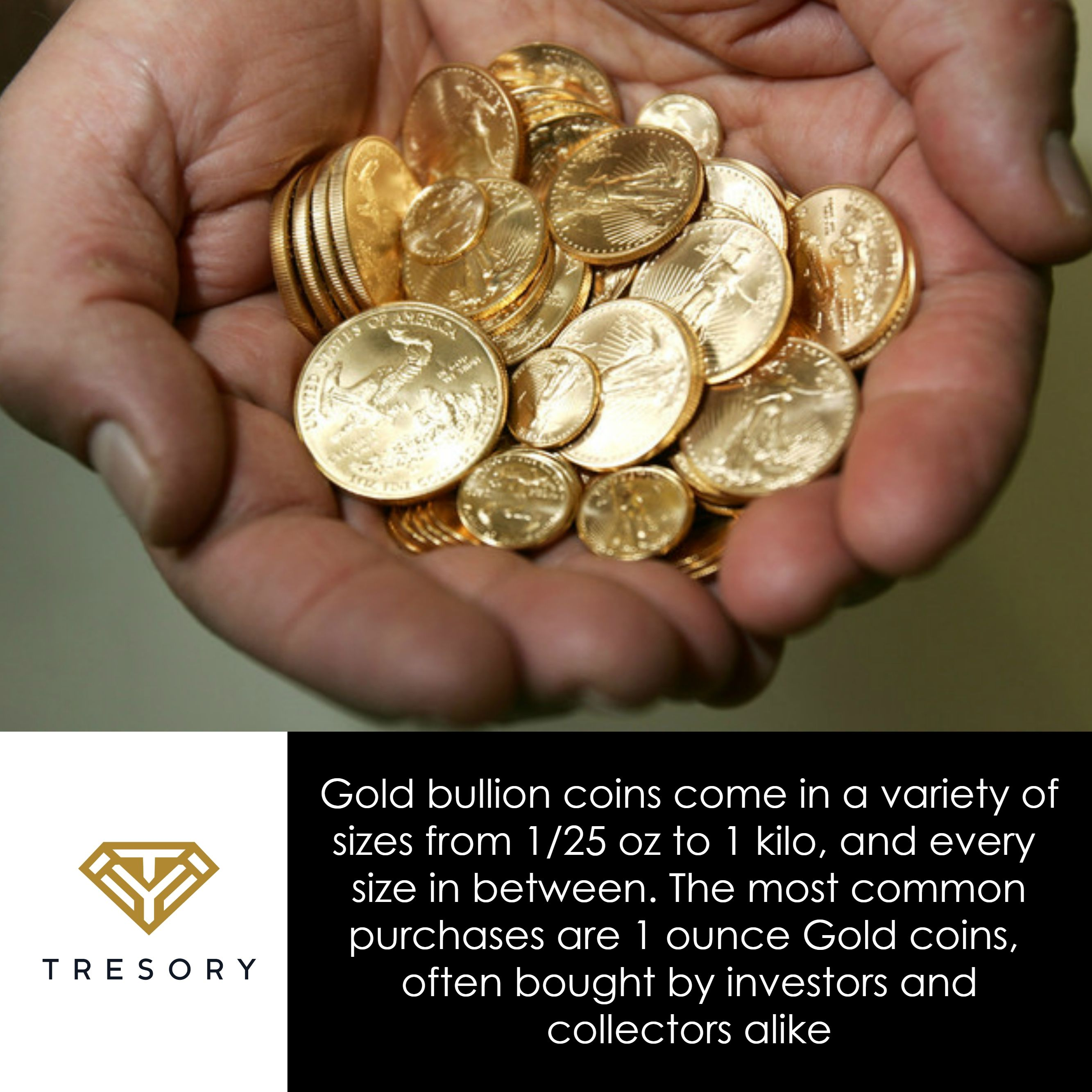 Gold Bullion Coins Come In A Variety Of