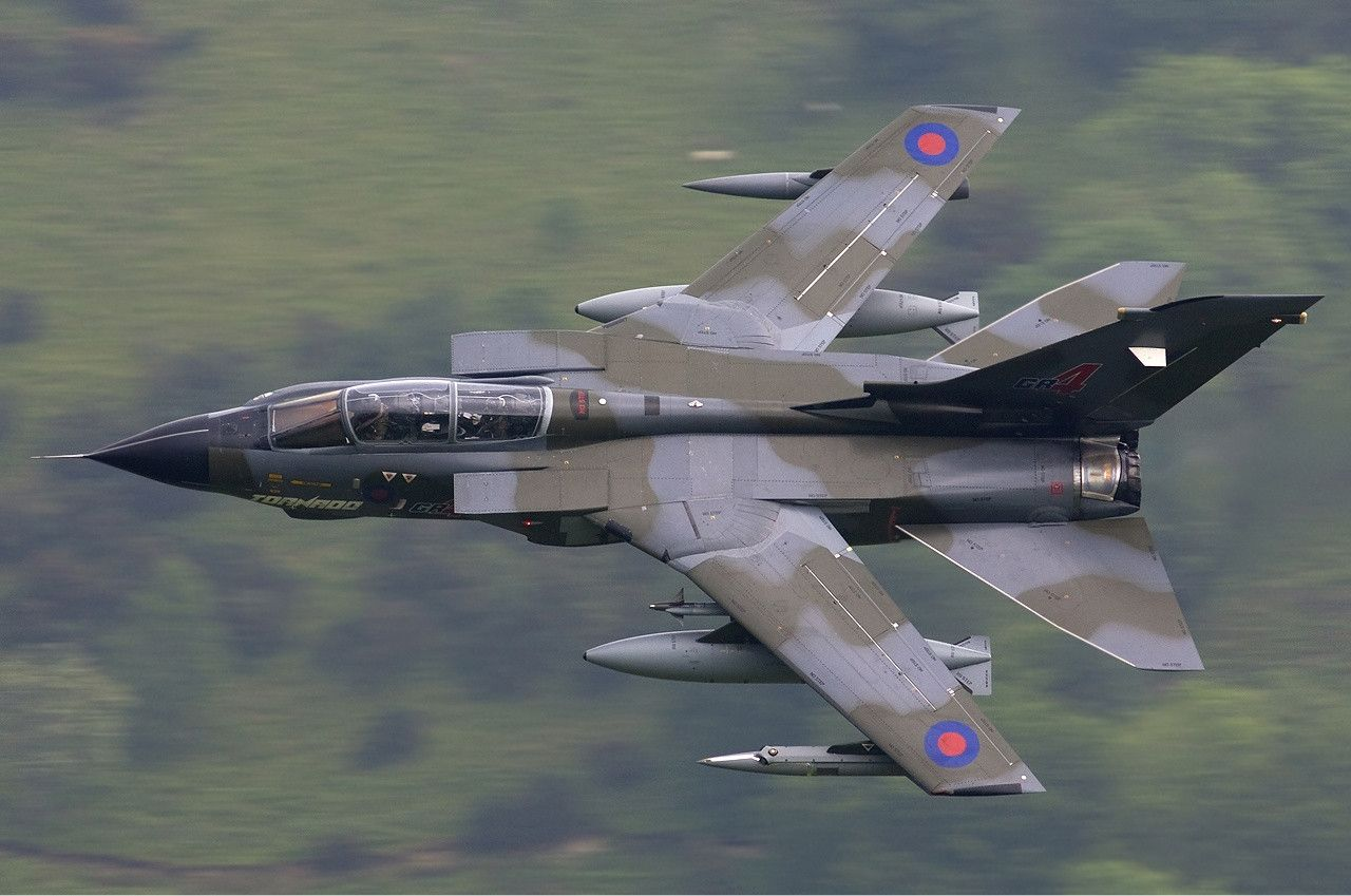 RAF Panavia Tornado GR4 lofting [1280x849]