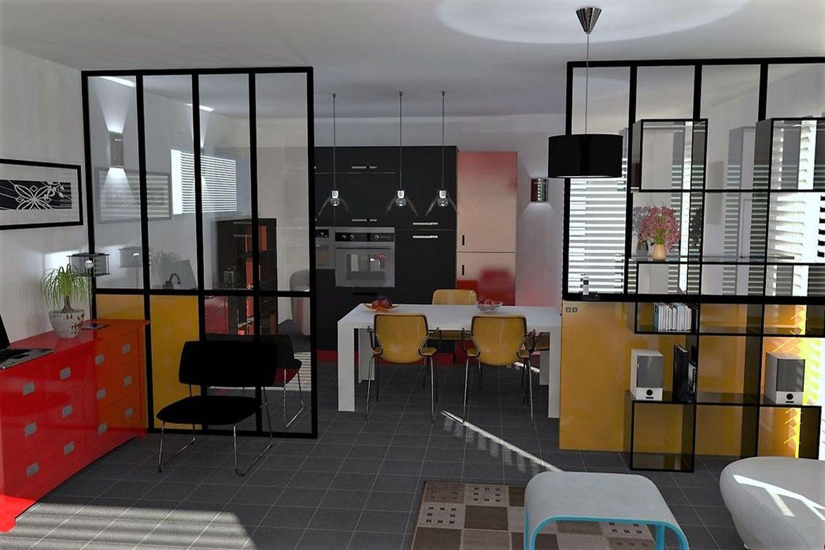 Verriere De Separation Verriere Interieur Hall Cloison Verriere