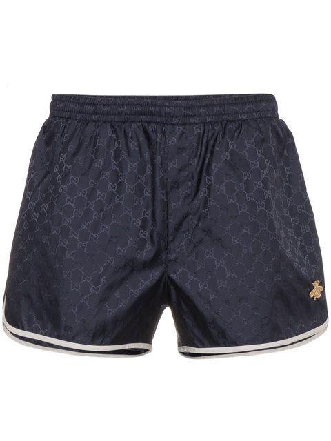 7ec3807395 Gucci GG Monogram Swim Shorts - Farfetch | $horties | Pinterest ...