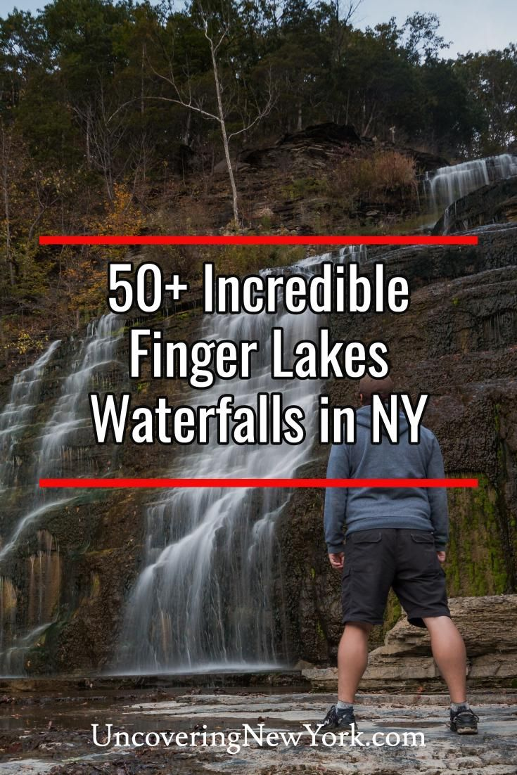 The best Finger Lakes waterfalls in New York #autumninnewyork