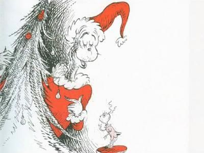 How The Grinch Stole Christmas Book Illustrations.Original Illustrations The Grinch Who Stole Christmas Who