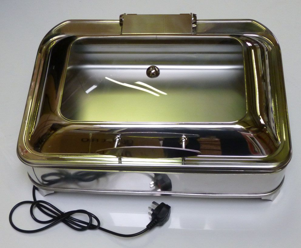 oblong electric chafing dish chafingdish catering