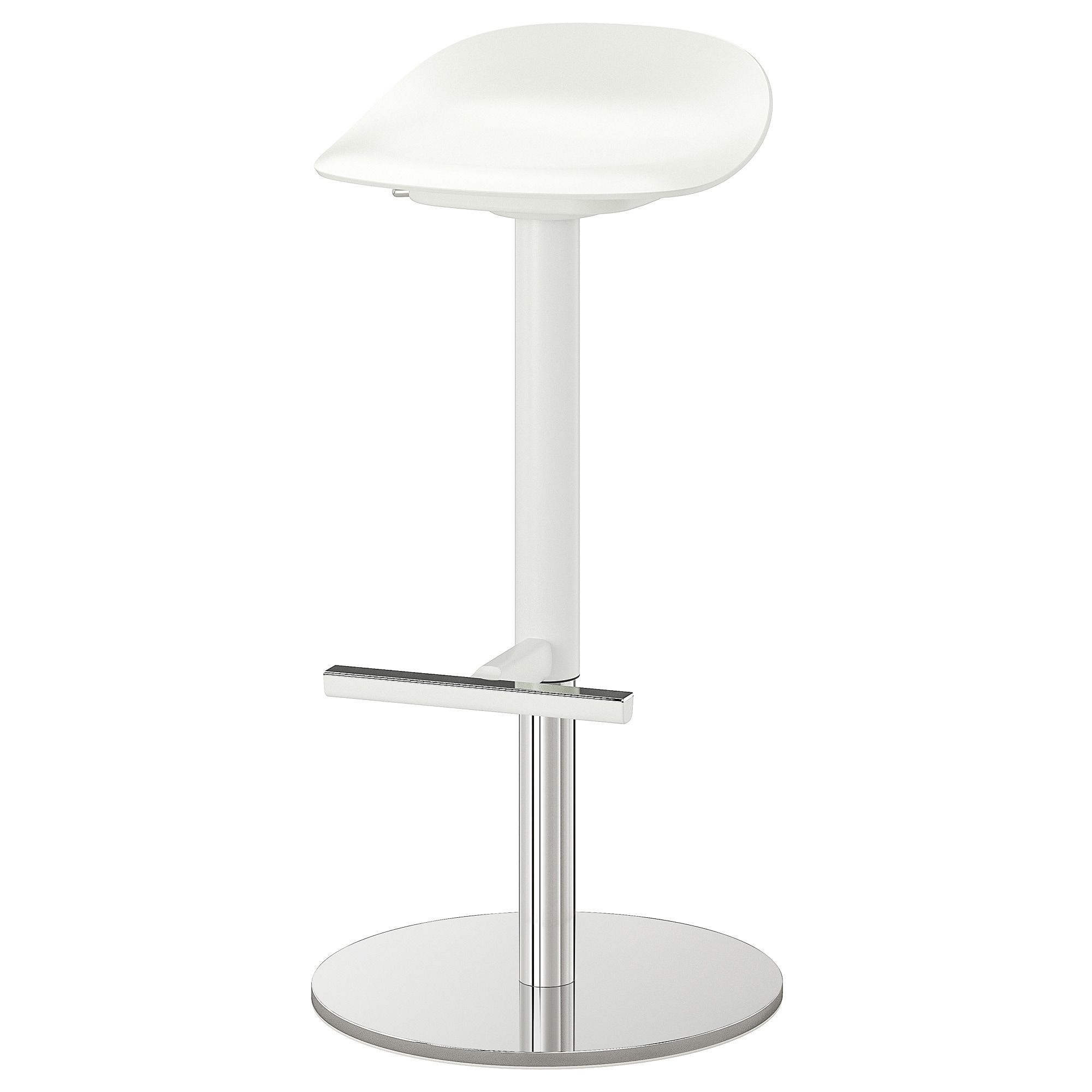 Janinge Tabouret De Bar Blanc Ikea Canada Ikea In 2020 Bar Stools White Bar Stools Stool