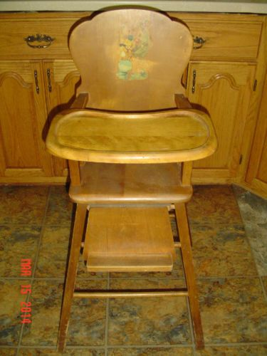 Lovely 1950s Potty Chairs | ... Hand Carved Wood Reupholstered High Back  Renaissance/