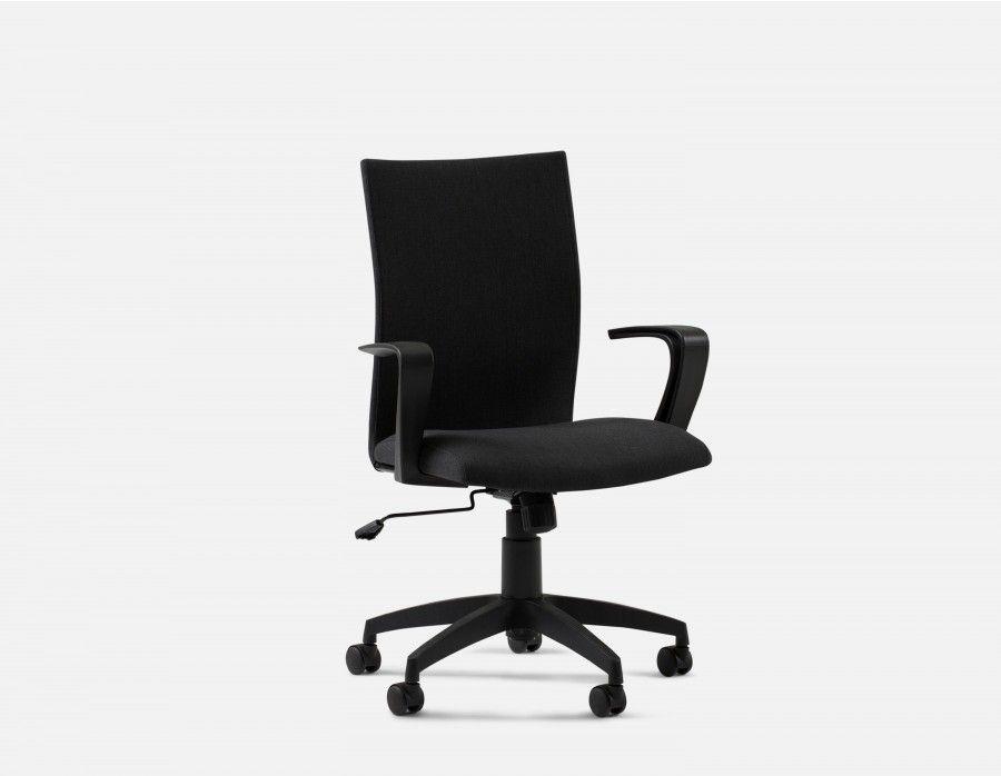 Raoul chaise de bureau noir fauteuil bureau standard