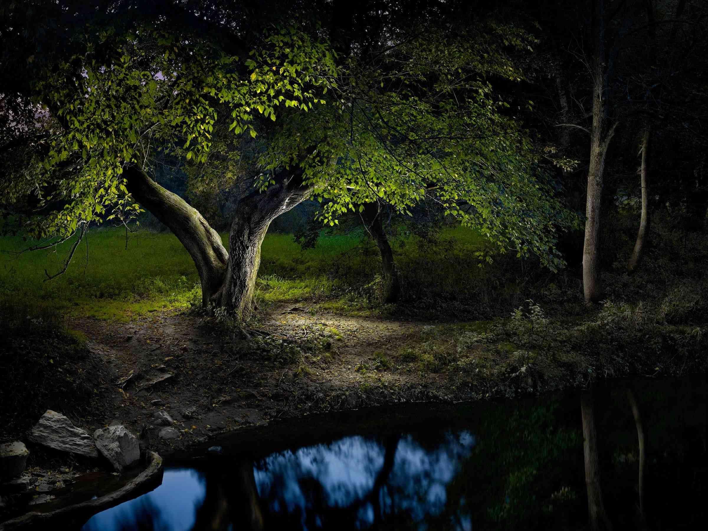 Harold Ross Fine Art Photographs Using Led Light Sculpture