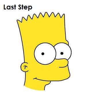 How To Draw Bart Simpson Desenho Do Bart Simpson