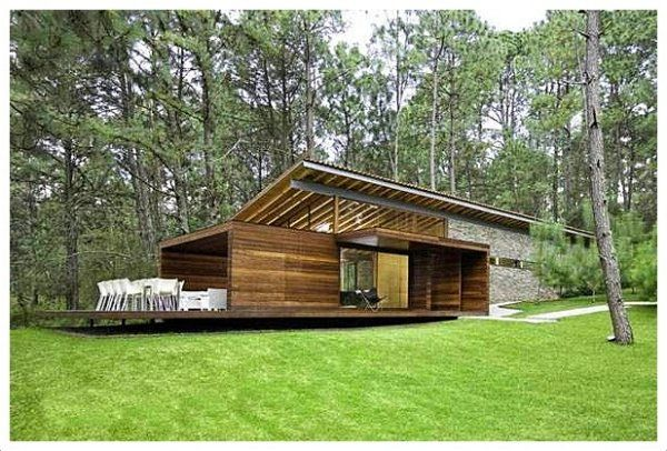 Resultado de imagen para casas de campo modernas de un for Planos de casas de campo modernas