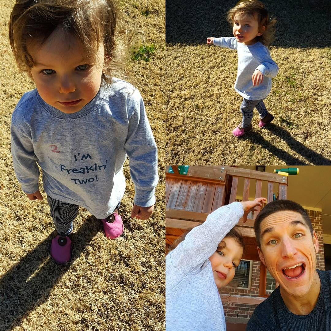 Enjoying the #Texas #winter in her @softstarshoes! Can't it just be sprint already? #play #sahd #kids #toddler
