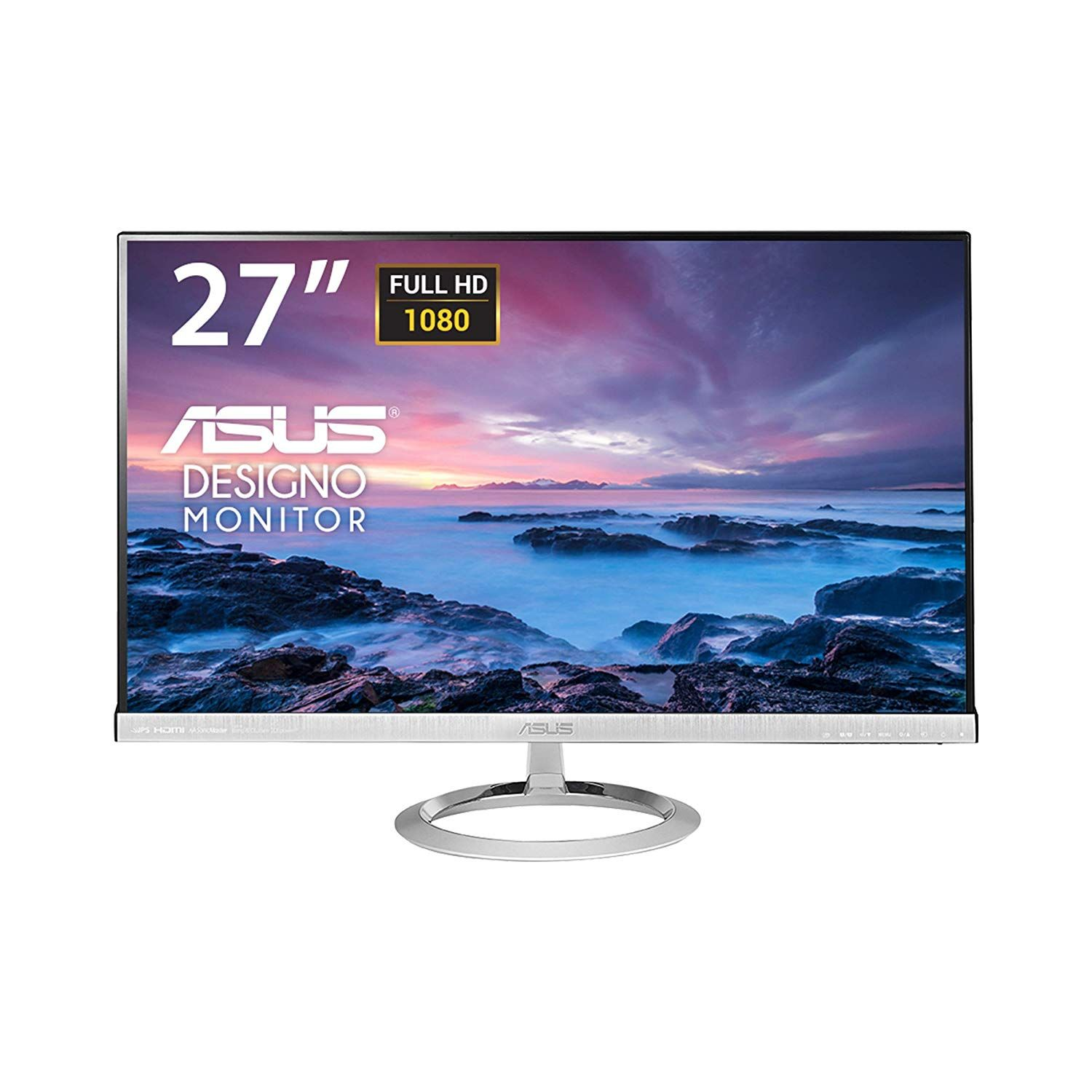 Asus Mx279h 27 Inch Monitor Monitor Lcd Monitor Built In Speakers