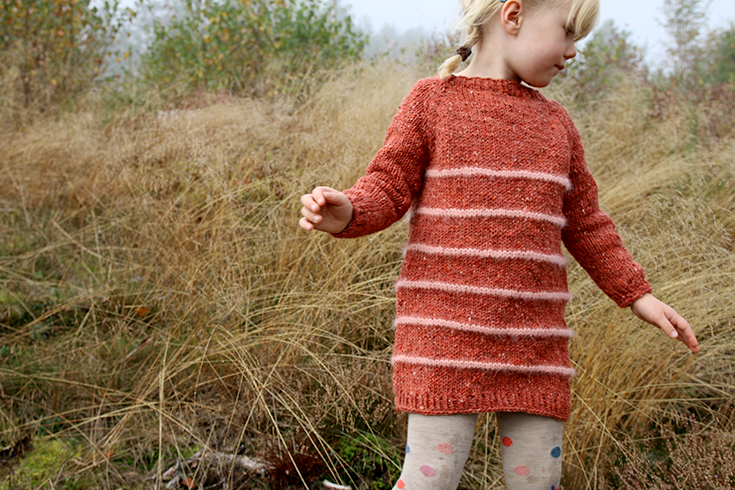 0f770113 Pickles - Little Miss Winter Sailor Sweater - Pattern   Knits for ...