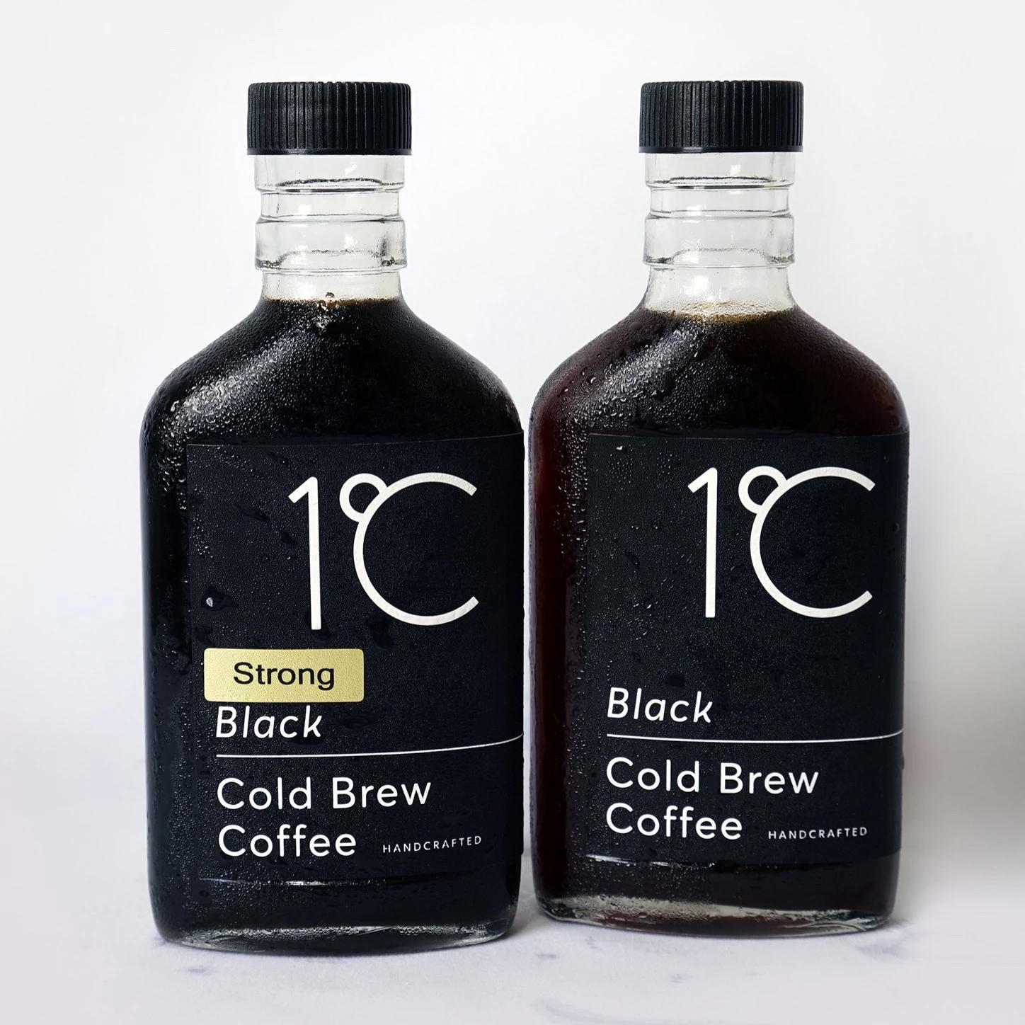 250ml Coffee Brew Bottle Flat Spirit Vodka Glass Bottle Coffee Brewing Cold Brew Packaging Cold Brew